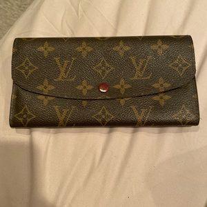Emilie LV monogram wallet